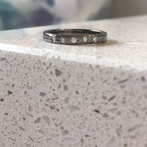 'So Pretty Cara Cotter' Sterling Endear ring